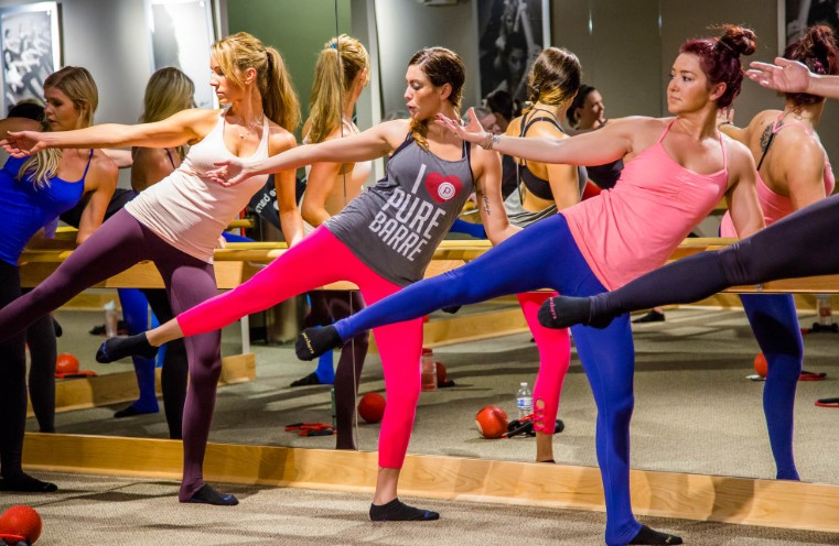 Pure Barre Standing Workout